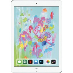 Apple iPad 6th Gen with Wi-Fi - 32GB - Silver