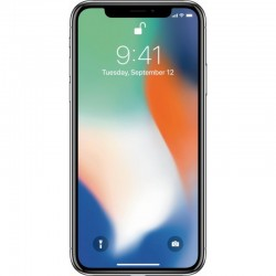 Apple iPhone X - 64GB - Silver