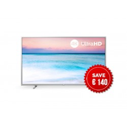 Philips Ultra Slim 4K UHD LED Smart TV with Pixel Precise UHD and Saphi system