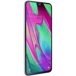 Samsung Galaxy A40 (64GB + 4GB) - White