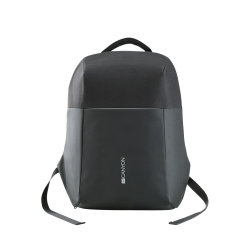 Canyon Anti-theft backpack for 15.6″-17″ laptop - Black