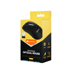 Canyon 3-button optical mouse MW2 - Black