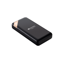 Canyon Compact power bank with digital display 20000 mAh PB-202 - Black