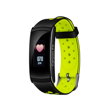 Canyon Colourful Fitness Band For Sports Fans - Black/Green