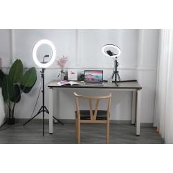 Vidlok Selfie Ring LED Light 18 inch 3840 lumen - Black