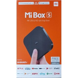 Xiaomi Mi Box S 4K HDR Android TV with DBA Streaming Media Player with Remote Control Google & Voice Assistant
