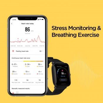 Xiaomi Amazfit Bip U Pro Smart Watch - Black