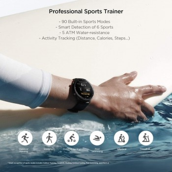 Xiaomi Amazfit GTR 2 Smartwatch Sports Edition - Black