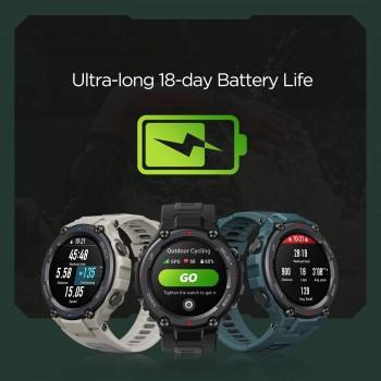 Amazfit T-Rex Pro Smartwatch Fitness Watch - Black