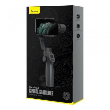 Baseus Camera Control Smartphone Handheld Gimbal Stabilizer - Gray