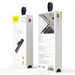 Baseus Converter L41 Type-C (input) for Type-C + 3.5 mm connector - Black