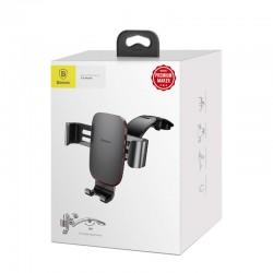 Baseus Car Mount Metal Age Gravity Phone holder (Connecting Rod Type) - Dark Gray