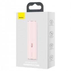 Baseus Fan Square Tube Mini Handheld - Pink