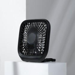 Baseus Fan Car Backseat Foldable - Black