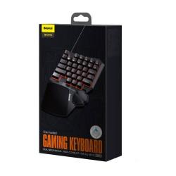 Baseus Game Tool GAMO One-Handed Gaming Keyboard - Black