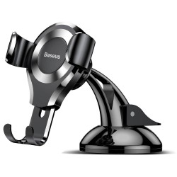 Baseus Car Mount Osculum Type Gravity - Black/Silver
