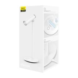 Baseus Home i-wok series Charging Office Reading Desk LED Lamp (spotlight) 1800mAh - White