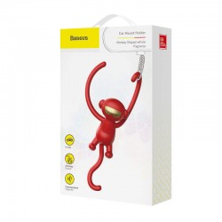 Baseus Fragrance Car Monkey-Shaped - Red