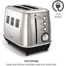 Morphy Richards Evoke 2 Slice Toaster Two Slice Toaster Stainless Steel Toaster 850 Watts