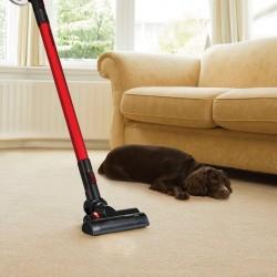 Morphy Richards Supervac Sleek Power+ Cordless Vacuum Cleaner - Red/Black