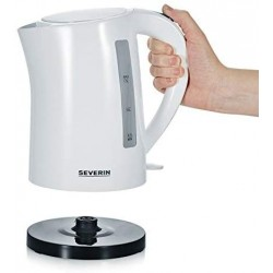 Severin Jug Electric Kettle with 2200 W of Power WK 3494, White-Black