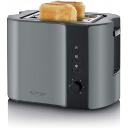 Severin SEV AT 9541 Automatic toaster - Black/Grey