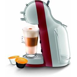 Nescafe Dolce Gusto Mini Me Coffee Machine - Arctic/Cherry Red