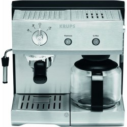 KRUPS XP224010 Combined Espresso Manual - Stainless Steel