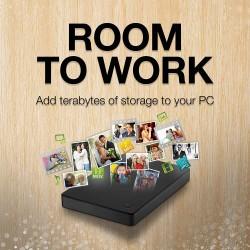 Seagate Portable 1TB External Hard Drive HDD – USB 3.0