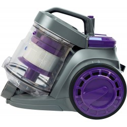 Russell Hobbs RHCV3511 Atlas Single Cyclonic Pets Cylinder Vacuum, Plastic, 800 W, 3 liters, Black/Purple