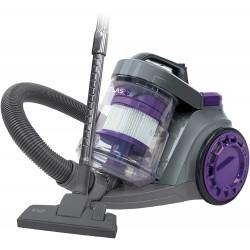 Russell Hobbs RHCV3511 Atlas Single Cyclonic Pets Cylinder Vacuum, Plastic, 800 W, 3 liters, Black/Purple