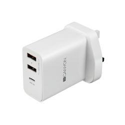 Canyon Powerful Technology Multi-USB Wall Charger, 2.4A H-07/UK