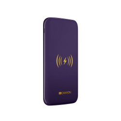 Canyon Power Bank with wireless charger 8000 mAh