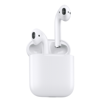 Apple Bluetooth Wireless AirPods (2019) w/Mic
