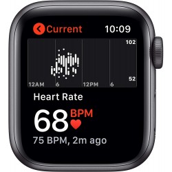 Apple Watch SE (40mm) - Space Grey Aluminium Case with Black Sport Band