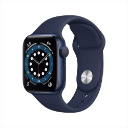 Apple Watch Series 6 (40mm) - Blue Aluminium Case with Deep Navy Sport Band