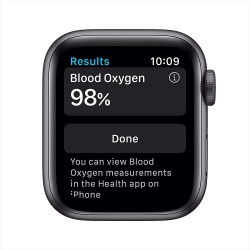 Apple Watch Series 6 (40mm) - Space Grey Aluminium Case with Black Sport Band