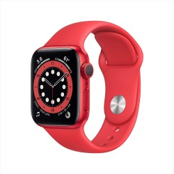 Apple Watch Series 6 (40mm) - PRODUCT(RED) - Aluminium Case with PRODUCT(RED) - Sport Band