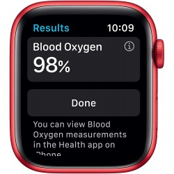 Apple Watch Series 6 (44mm) - PRODUCT(RED) - Aluminium Case with PRODUCT(RED) - Sport Band