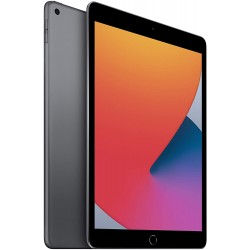 Apple iPad (10.2-inch, Wi-Fi + Cellular, 128GB) - Space Gray (8th Generation)
