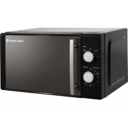 RUSSELL HOBBS RHM2060B Compact Solo Microwave - Black