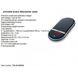 Beurer Precision Kitchen Scales 2 Kg