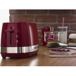 Delonghi Active Line Toaster - Red