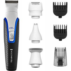 Remington Graphite G4 Cordless Trimmer, All-in-One Beard, Body and Stubble Trimmer with Mini Electric Shaver Attachment, PG4000