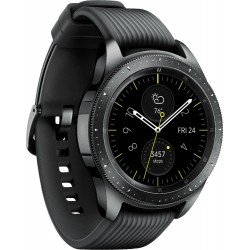 Samsung - Galaxy Watch Smartwatch 42mm Stainless Steel - Midnight Black