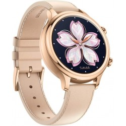 TicWatch C2 Smart Watch Classic Fashion Fitness smartwatch for with All Day Heart Rate, GPS, NFC, Notifications and Alert, Compatible with Android and iOS - Rose Gold