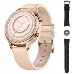 TicWatch C2 Plus 1GB RAM Smart Watch Wear OS by Google GPS NFC Payment IP68 Water and Dust Proof Smartwatch, Two Straps Included, iOS and Android Compatible - Rose Gold