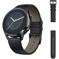 TicWatch C2 Plus 1GB RAM Smart Watch Wear OS by Google GPS NFC Payment IP68 Water and Dust Proof Smartwatch, Two Straps Included, iOS and Android Compatible - Onyx