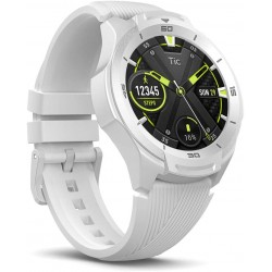 Ticwatch S2 Waterproof Smartwatch with Build-in GPS 24h Heart Rate Monitor Wear OS by Google Compatible with Android and iOS - Glacier