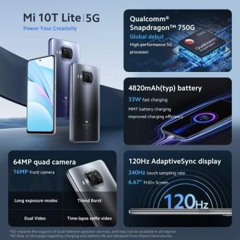 Xiaomi Mi 10T Lite 5G 128GB/6GB - Pearl Grey